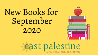 New books for September 2020