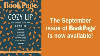 Cover of September Book Page publication with Cozy Up on the cover