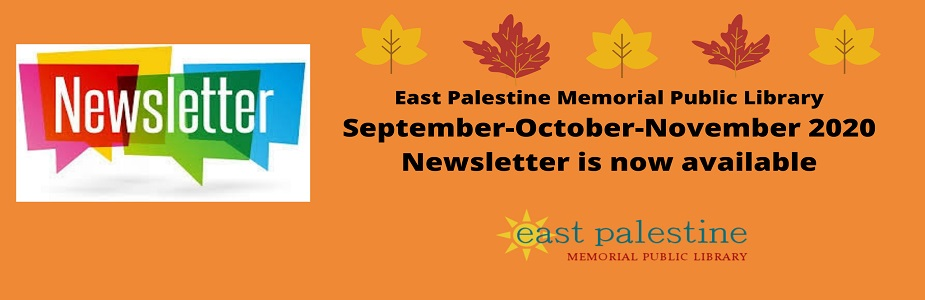 September-October-November newsletter is now available
